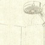 showerhead sketch image